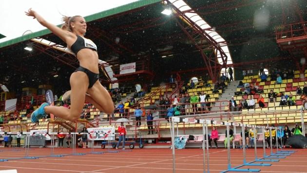 Die steirische Leichtathletin Karin Strametz (Bild: sepp pail)
