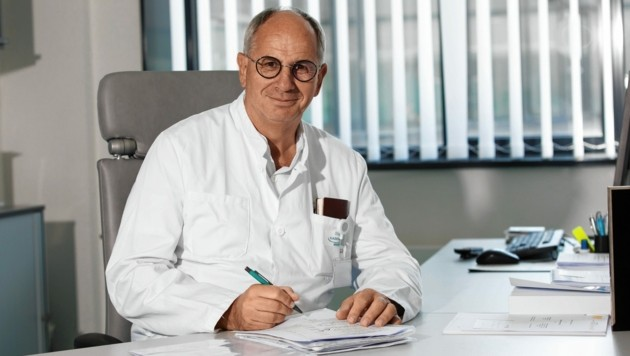 Primarius Prof. Rudolf Likar. (Bild: KABEG)