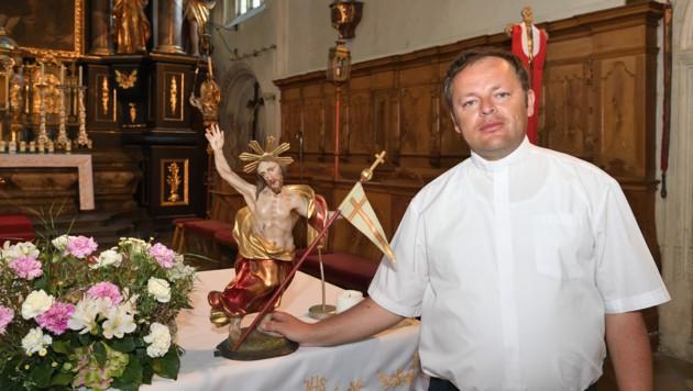 Pfarrer Przemyslaw Kocjan (41) (Bild: Gregor Semrad)