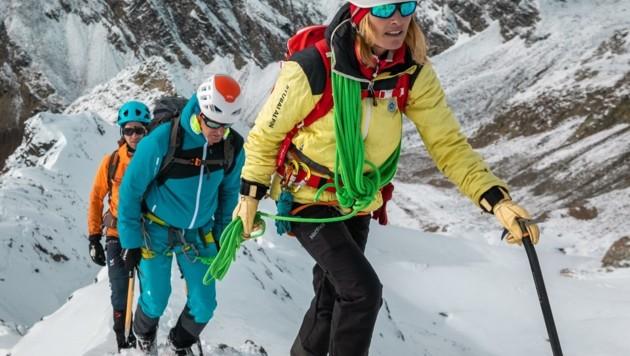 Die Tiroler Bergführer blicken trotz Corona-Krise zuversichtlich nach oben. (Bild: Österreichischer Bergführerverband)