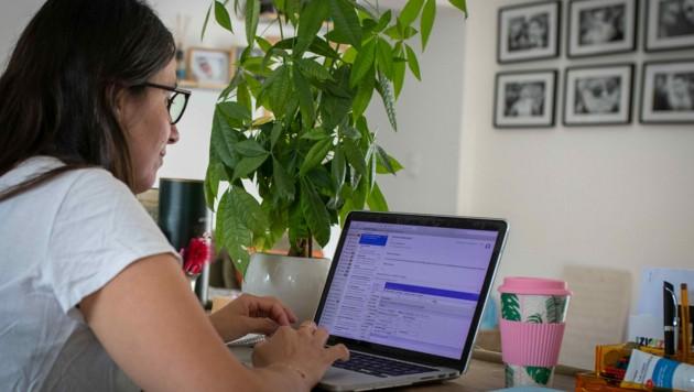 Arbeit im Home-Office (Bild: www.viennareport.at)