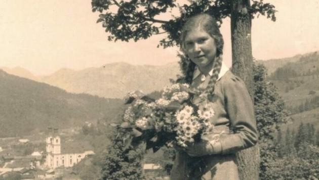 Im Jahre 1938 waren die Schrecken, die der Krieg bringen würde, für Teenager Maria nicht vorstellbar. (Bild: Berger Hubert)