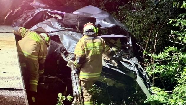 Die Insassen überlebten den Unfall nicht. (Bild: Markus Tschepp)