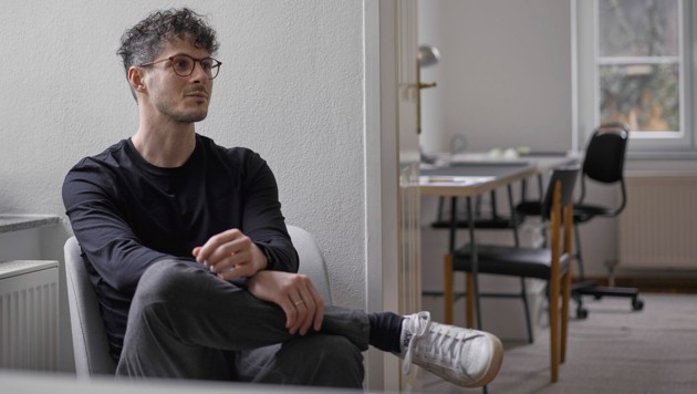 """""""Die Krise wird Spuren hinterlassen"""", so Florian Knogler, Inhaber der Werbeagentur Zunder. (Bild: Winfried Flohner)"""