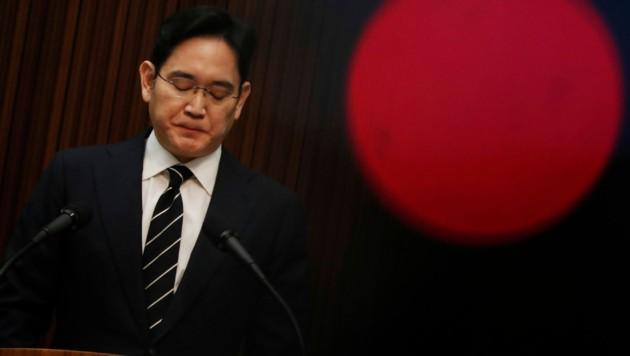 Samsung-Erbe Lee Jae Yong (Bild: AP)