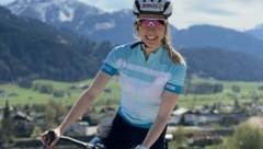 Sammelt fleißig Rad-Kilometer: Langlauf-Ass Teresa Stadlober (Bild: Stadlober)