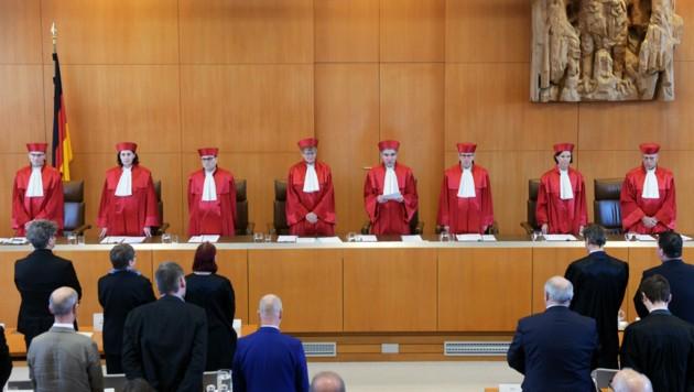 Das deutsche Bundesverfassungsgericht in Karlsruhe (Bild: AFP)