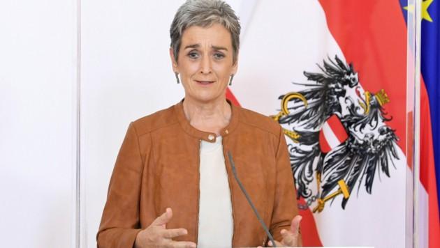 Grünen-Staatssekretärin Ulrike Lunacek (Bild: APA/HELMUT FOHRINGER)
