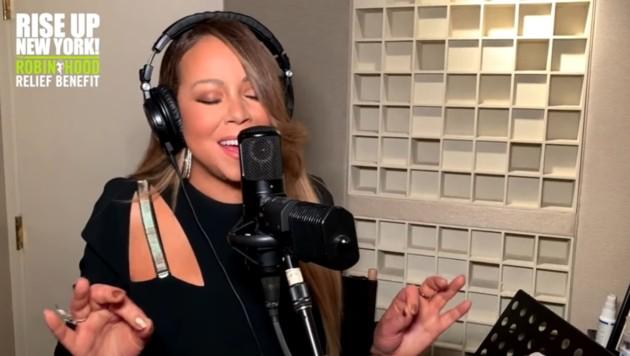 Mariah Carey trällerte für den guten Zweck ein Ständchen. (Bild: youtube.com)
