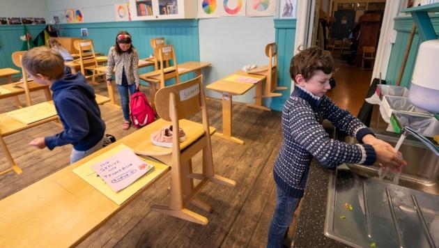 Eine Schule in Oslo (Bild: AFP)