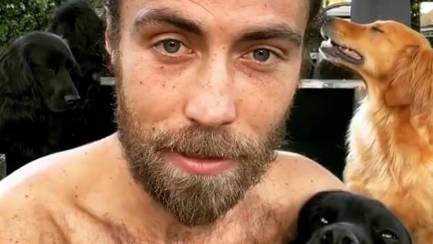 James Middleton hat sieben Jahre lang einen Bart getragen. (Bild: instagram.com/jamesmiddleton)