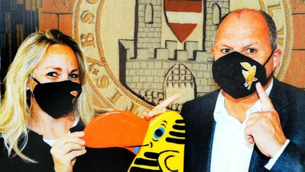 Ybbsiade-Chefin Eva Zemanek und Schroll planen für 2021 (Bild: Crepaz Franz)