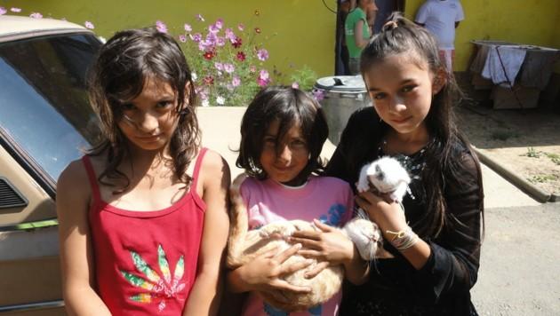 Diese tierlieben Kinder haben kein Dach mehr über dem Kopf. (Bild: zVg)