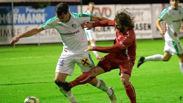 Es wird in der Regionalliga gespielt. Allerdings wird nur die Hinrunde zu Ende gespielt (Bild: Sepp Pail)