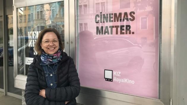 Barbara Brunner, Geschäftsführerin des KIZ Royal Kinos in Graz (Bild: KIZ RoyalKino)