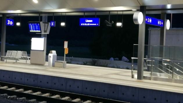 Der Bahnhof Liezen war Schauplatz des Raubes. (Bild: Reinhard Schwaiger)