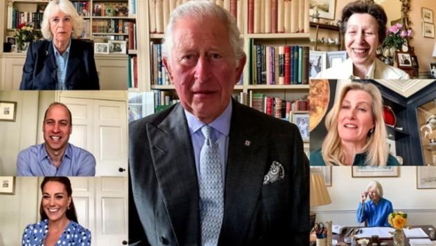 Kate, William, Charles, Camilla, Anne und Co. posteten ein gemeinsames Video. (Bild: instagram.com/theroyalfamily)