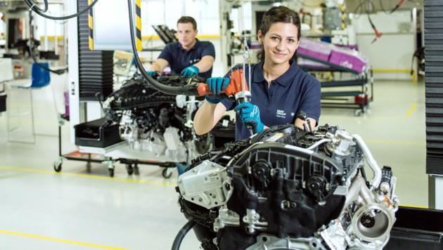 Rund 4500 Mitarbeiter sind bei BMW in Steyr beschäftigt. (Bild: BMW Group)