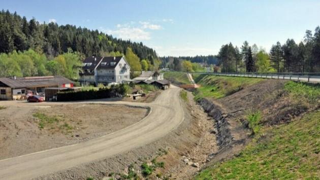 Die Arbeiten im Westteil von Velden sind bald abgeschlossen (Bild: Hermann Sobe )