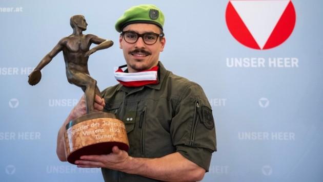 Der steirische Sportler des Jahres: Vinzenz Höck (Bild: GEPA pictures)