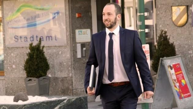 Seit 2014 ist David Egger in der Gemeindevertretung seiner Heimatgemeinde Neumarkt am Wallersee an, im Vorjahr wurde er als SPÖ-Spitzenkandidat Vizebürgermeister. (Bild: SPÖ Neumarkt)