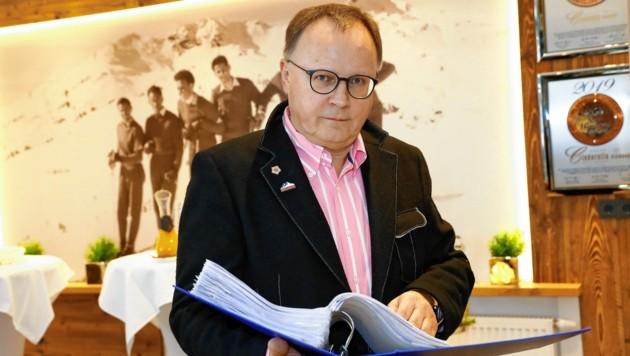 Hans Gruber sieht dem 15. Juni positiv entgegen (Bild: GERHARD SCHIEL)