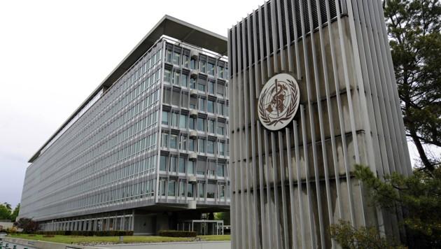 Die WHO-Zentrale in Genf