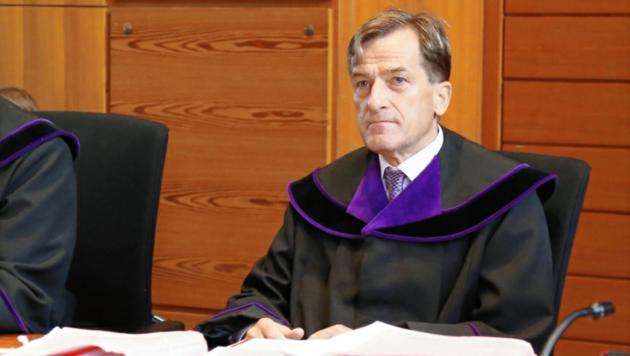 Der ehemalige Strafrichter Josef Geisler. (Bild: Christof Birbaumer)