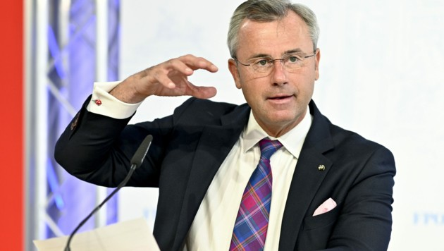 FPÖ-Bundesparteiobmann Norbert Hofer (Bild: APA/Herbert Neubauer)