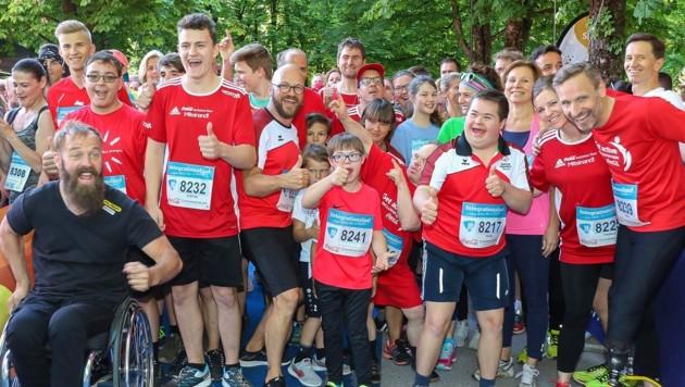 Statt gemeinsam wie 2019 im Salzburger Volksgarten geht es bei der 4.2 Challenge um ein Laufen oder Walken in der Familie oder alleine - der gute Zweck bleibt. (Bild: Salzburg Marathon/Salzburg Cityguide)