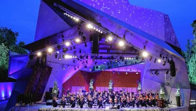 Die Sommernachtsgala in Grafenegg (Bild: ORF)