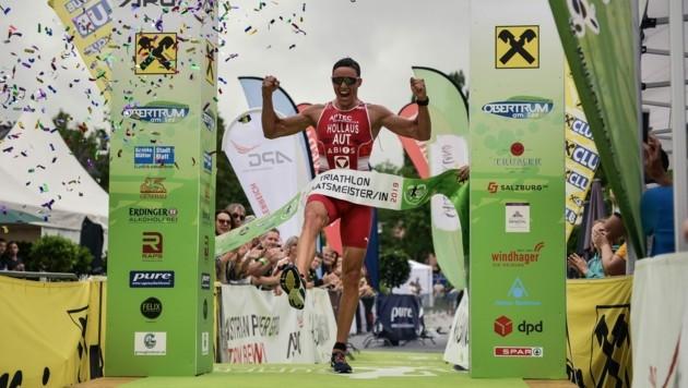 Die Triathlon-Staatsmeisterschaft wird es in Obertrum erst wieder 2021 geben. (Bild: Sportograf / TVB Obertrum am See)