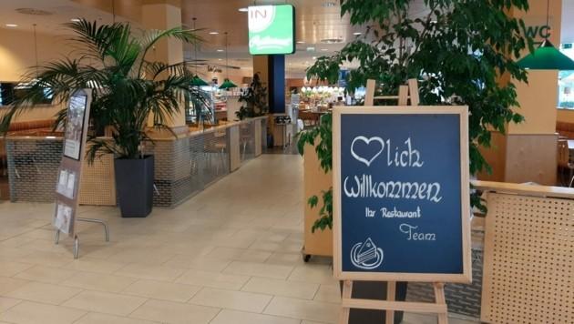 """""""Herzlich willkommen"""" heißt es in diesem Restaurant. (Bild: Christian Tragner)"""