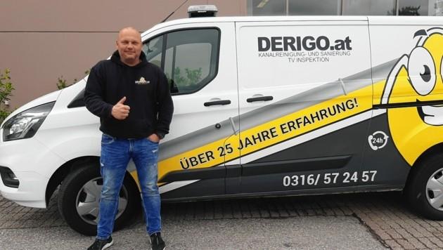 Andreas Konrad kennt die Untiefen steirischer Toiletten. (Bild: Derigo)