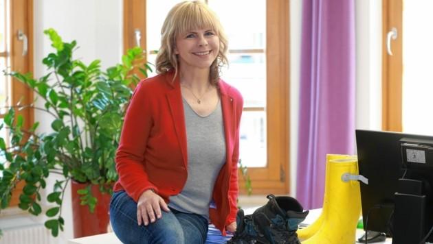 Sonya Feinig (SP) hat in Monika Pernjak (FP) eine Konkurrentin gefunden. (Bild: Evelyn HronekKamerawerk)