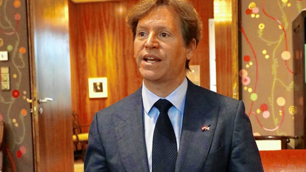 US-Botschafter Trevor Traina (Bild: Martin Jöchl)