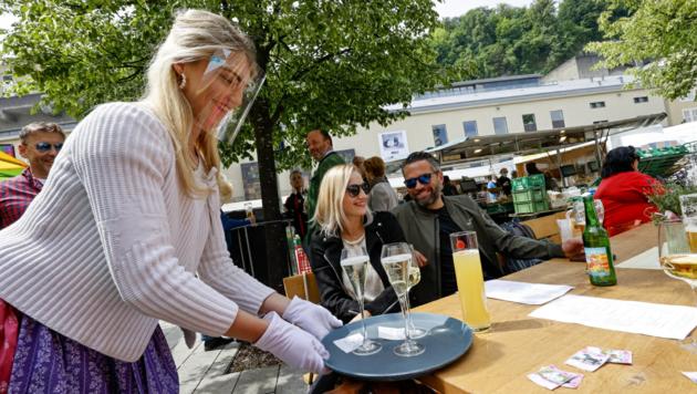 FPÖ fordert Finanzspritze für Salzburgs Gastronomen. (Bild: Markus Tschepp)