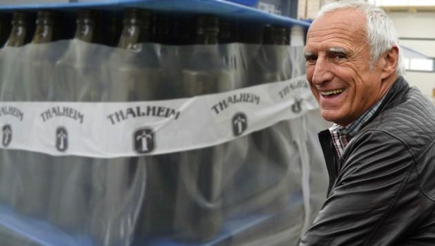 Dietrich Mateschitz stieg vor vier Jahren ins Brauereigeschäft ein. Die Thalheimer Heilwasser GmbH ist aber nicht Teil des Red-Bull-Konzerns. (Bild: picturedesk.com, Joensson)
