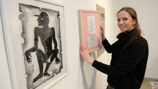 Kuratorin Katharina Acht freut sich über den Neustart (Bild: Einöder Horst)