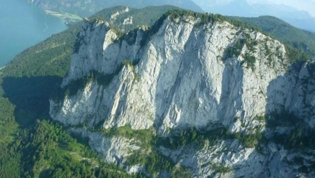 Die Drachenwand in Oberösterreich (Bild: APA/POLIZEI)