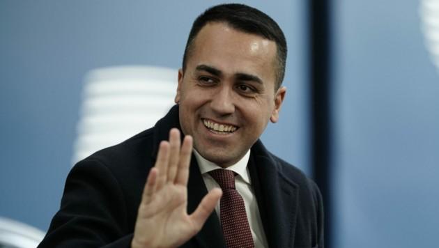 Italiens Außenminister Luigi Di Maio (Bild: APA/AFP/Kenzo TRIBOUILLARD)