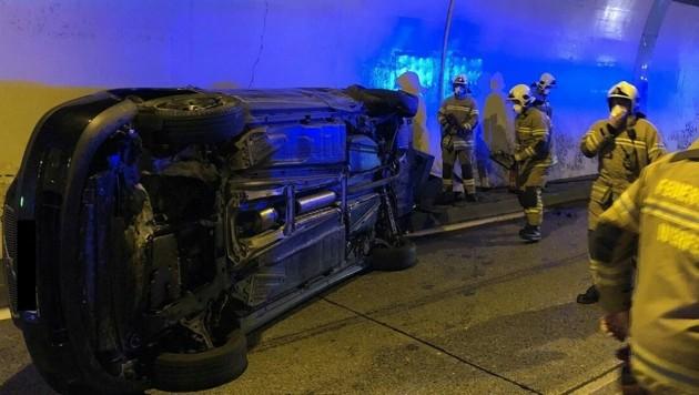 Die Freiwillige Feuerwehr Golling war mit 22 Mann im Einsatz (Bild: Feuerwehr Golling)
