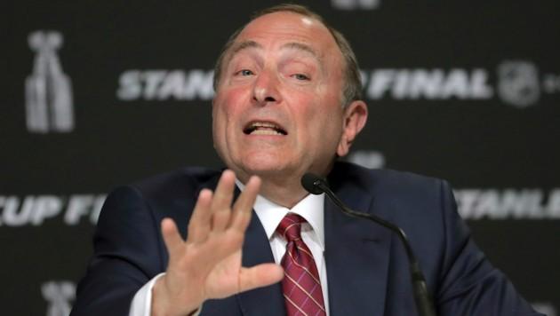 NHL-Comissioner Gary Bettman (Bild: The Associated Press)