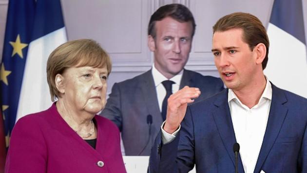 Kurz kontert Merkels und Macrons Milliarden-Plan | krone.at