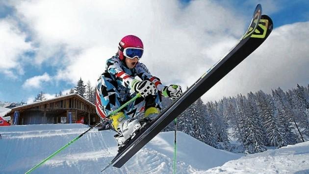 Kati Ofner steht wieder auf Skiern. (Bild: GEPA pictures)