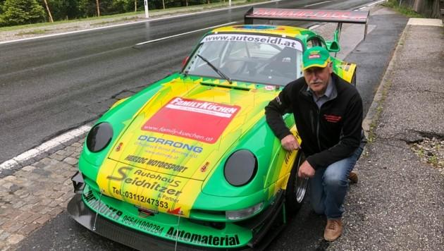 Rupert Schwaigers Porsche in neuem Glanz. (Bild: Rupert Schwaiger)