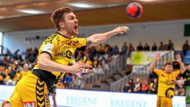 Handballspieler Marian Klopcic. (Bild: GEPA pictures)