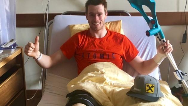 Thomas Hettegger kämpfte sich nach seiner schweren Knieverletzung im März 2018 zwar noch einmal zurück, musste seine Karriere nun aber beenden. (Bild: Thomas Hettegger)