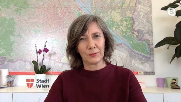 Vizebürgermeisterin Birgit Hebein (Grüne)