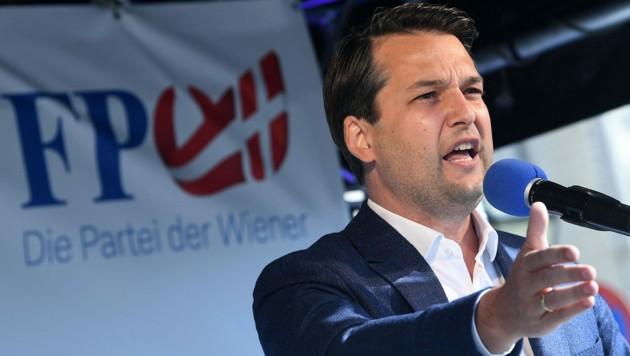 Die FPÖ will mit Dominik Nepp vermehrt auf den Wiener Straßen präsent sein.